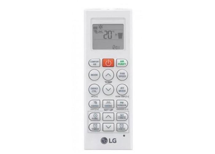 Настенная инверторная сплит-система LG AC09BQ серии Artcool Mirror Inverter